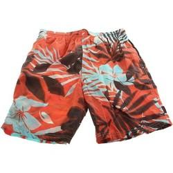 Oblečenie Muži Šortky a bermudy Zagano Spodenki kąpielowe  2216-208 red