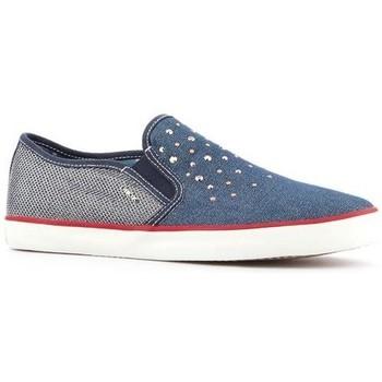 Topánky Ženy Slip-on Geox Wmns  J Kiwi G.D  J62D5D-0ZDAS-C4001 blue
