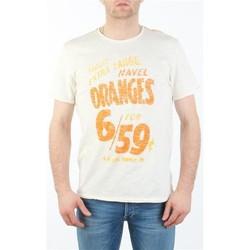 Oblečenie Muži Tričká s krátkym rukávom Lee MARCANTILE L668ABBC white