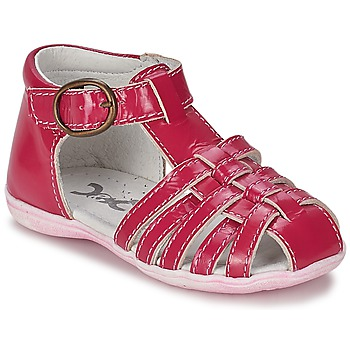Topánky Dievčatá Sandále Citrouille et Compagnie TRAMELLE Fuksiová