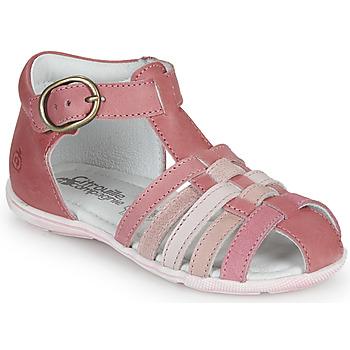 Topánky Dievčatá Sandále Citrouille et Compagnie VISOTU Ružová / Viacfarebná