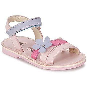 Topánky Dievčatá Sandále Citrouille et Compagnie ERTUNA Viacfarebná