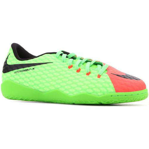 Topánky Deti Sandále Nike JR Hypervenomx Phelon III IC 852600 308 green, orange