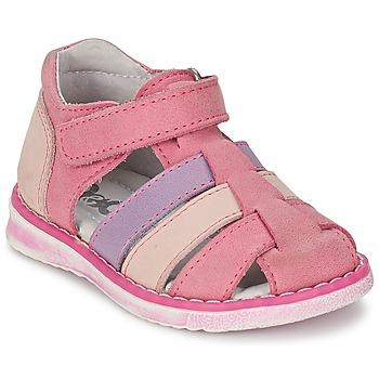 Topánky Dievčatá Sandále Citrouille et Compagnie FRINOUI Fialová / Ružová / Fuksiová