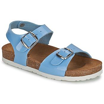 Topánky Dievčatá Sandále Citrouille et Compagnie INIALE Modrá