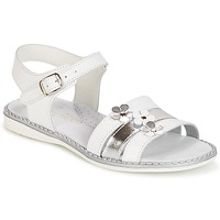 Topánky Dievčatá Sandále Citrouille et Compagnie KATAGUE Biela