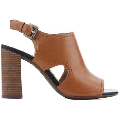 Topánky Ženy Sandále Geox D Audalies H.S.B. Caramel D824WB 00044 C5102 brown