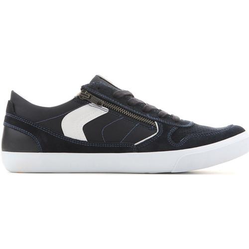 Topánky Muži Nízke tenisky Geox U Box C - Suede+Nylon U82R3C 022FU C4002 navy