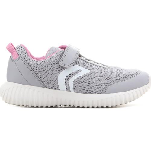 Topánky Deti Sandále Geox J Waviness G.C J826DC 01454 C1296 grey, pink