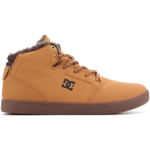 Topánky Muži Členkové tenisky DC Shoes DC CRISIS WNT ADBS100116 WD4 brown