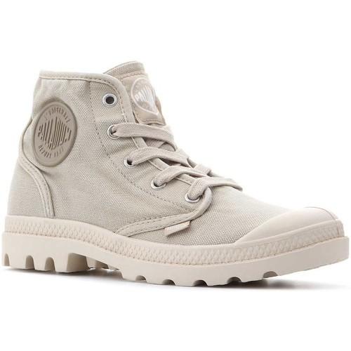Topánky Ženy Členkové tenisky Palladium Pampa Hi 92352-238-M beige