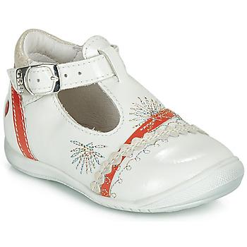 Topánky Dievčatá Balerínky a babies GBB MARINA Koralová / perleťová