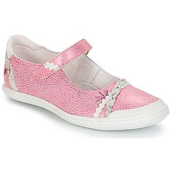 Topánky Dievčatá Balerínky a babies GBB MARION Ružová / biela