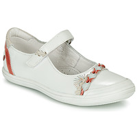 Topánky Dievčatá Balerínky a babies GBB MARION Biela