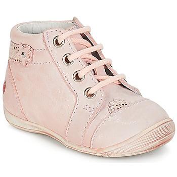 Topánky Dievčatá Polokozačky GBB PRIMROSE Ružová / Svetlá telová