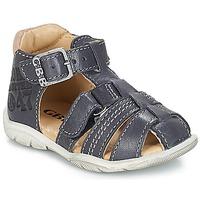Topánky Chlapci Sandále GBB PRIGENT Námornícka modrá