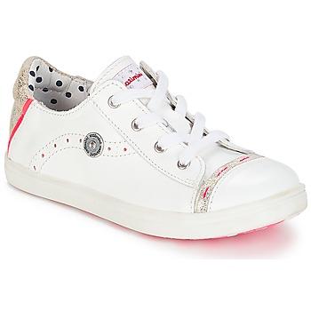 Topánky Dievčatá Nízke tenisky Catimini PANDA Biela / Venus