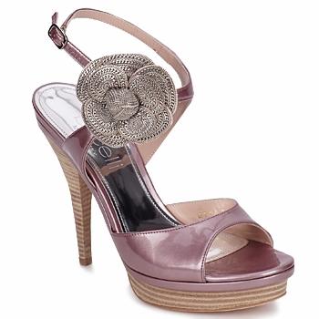 Topánky Ženy Sandále Fericelli MINKA Paint / Púdrová