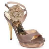 Topánky Ženy Sandále Fericelli MINKA Svetlá telová / Škoricová