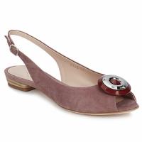 Topánky Ženy Sandále Fericelli PITOUCLI Hnedá kamzíčia / Malva