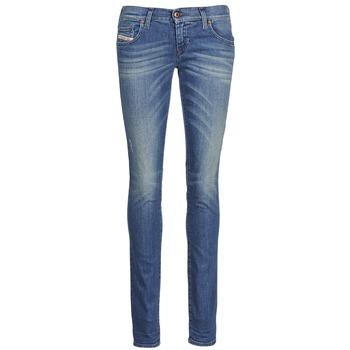 Oblečenie Ženy Džínsy Slim Diesel GRUPEE Modrá