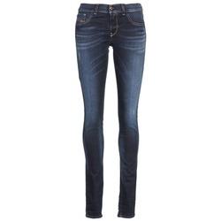 Oblečenie Ženy Džínsy Slim Diesel LIVIER Modrá