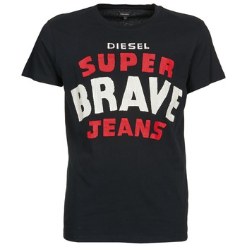 Oblečenie Muži Tričká s krátkym rukávom Diesel T-ASTERIOS čierna