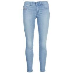 Oblečenie Ženy Džínsy Slim Diesel LIVIER ANKLE Modrá / Clear