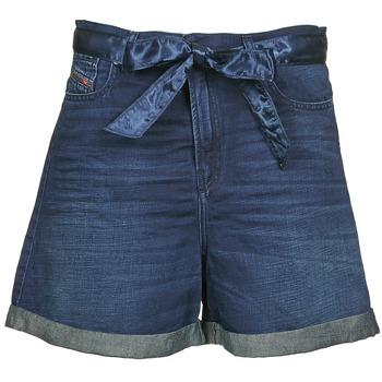 Oblečenie Ženy Šortky a bermudy Diesel DE-KAWAII Modrá