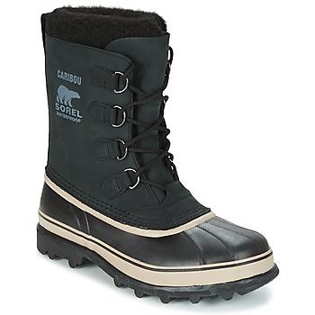 Topánky Muži Snehule  Sorel CARIBOU Čierna
