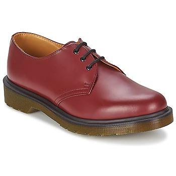 Topánky Muži Derbie Dr Martens 1461 PW Červená / Červená višňová