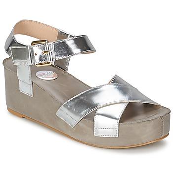 Topánky Ženy Sandále RAS NIOBE Strieborná