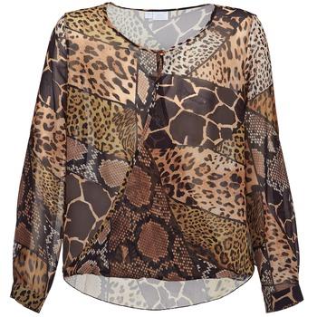 Oblečenie Ženy Blúzky Alba Moda ANINA Hnedá