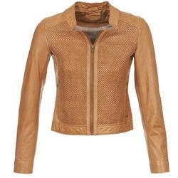 Oblečenie Ženy Kožené bundy a syntetické bundy Ikks SANTA ANA Oranžová koňaková