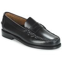 Topánky Muži Mokasíny Sebago CLASSIC PENNY BRUSHED Čierna