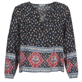 Oblečenie Ženy Blúzky Casual Attitude WASAS Čierna / Viacfarebná