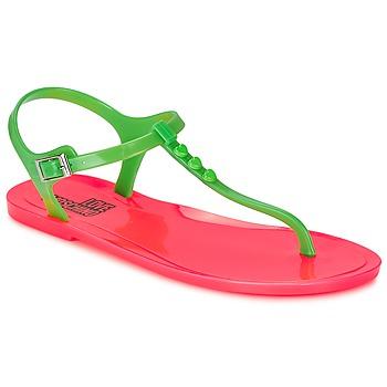 Topánky Ženy Sandále Love Moschino JA16381G0KJN180A Zelená / Ružová