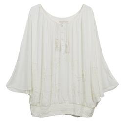 Oblečenie Ženy Blúzky Cream DREY Krémová