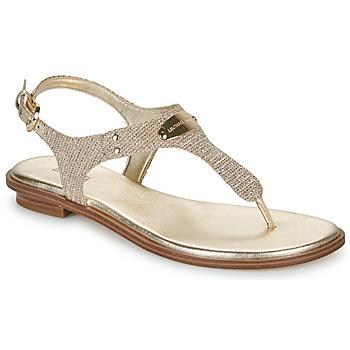 Topánky Ženy Sandále MICHAEL Michael Kors MK PLATE Zlatá