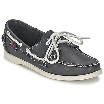 Topánky Ženy Námornícke mokasíny Sebago DOCKSIDES Modrá