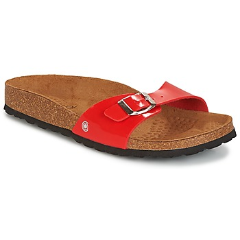Topánky Ženy Šľapky Casual Attitude CHASTO červená / Uhoľná šedá