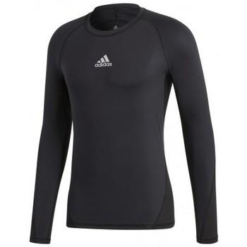 Oblečenie Muži Tričká s krátkym rukávom adidas Originals Alphaskin Sport LS Čierna