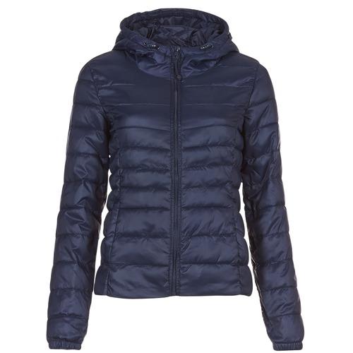 Oblečenie Ženy Vyteplené bundy Only ONLTAHOE Námornícka modrá