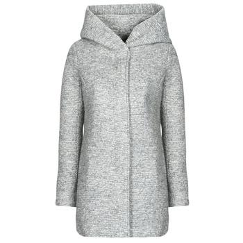 Oblečenie Ženy Kabáty Only ONLSEDONA Šedá