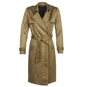 Oblečenie Ženy Kabátiky Trenchcoat Only ONLRIBA Kaki