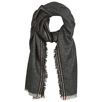 Textilné doplnky Muži Šále, štóle a šatky André CAFE Šedá