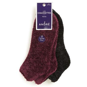 Textilné doplnky Ženy Ponožky André CHENILLE Viacfarebná
