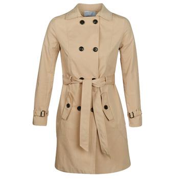 Oblečenie Ženy Kabátiky Trenchcoat Betty London JIVELU Béžová