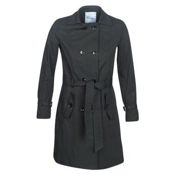 Oblečenie Ženy Kabátiky Trenchcoat Betty London JIVELU Čierna