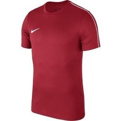 Oblečenie Muži Tričká s krátkym rukávom Nike Park 18 Červená